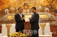 河内市承诺为韩国投资商创造有利条件