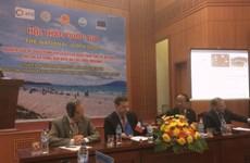 欧盟协助越南预防海岸侵蚀现象