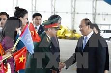 越南政府总理阮春福抵达纽约 开始对美国进行正式访问