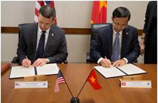 越美签署意向书 促进海关合作协定谈判