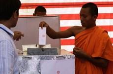 柬埔寨乡分区选举在即  洪森首次亲自参加竞选活动