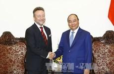 越南政府总理阮春福会见捷克驻越大使