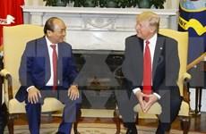 越南政府总理阮春福圆满结束对美国进行的正式访问