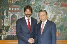 越南公安部与斯洛伐克内务部加强合作