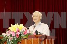 越共中央总书记颁布决议   就促进国有企业调结构、转方式作出指导
