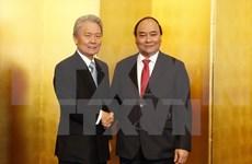 阮春福:越南欢迎日本经团联成员集团加大对越投资力度