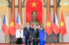 越南与捷克发表联合声明