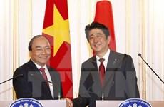 阮春福总理圆满结束对日本进行正式访问并出席亚洲未来国际会议之旅
