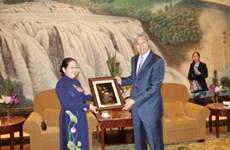 胡志明市代表团结束对中国各地方的工作访问