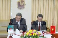 越南通讯社与阿尔及利亚国家通讯社加强合作