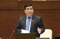 越南第十四届国会第三次会议:政府对公共投资资金到位进度缓慢负责任
