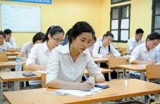 越南2017年国家高中毕业和大学入学统一考试:全国共设2364个考点