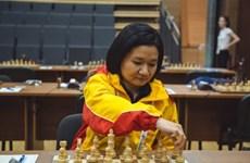 2017国象世团赛首轮:越南棋手黄氏宝簪击败世界卫冕冠军