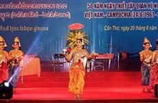 越柬建交50周年:不断培育越柬传统团结友好密切关系