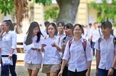 越南全国86.6万学生报名参加高中会考和高考统一考试
