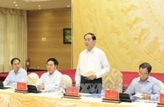 陈大光主席:争取2017年APEC会议期间举行的活动推广越南的潜力与优势