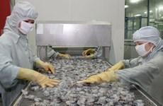 茶荣省水产品出口金额猛增