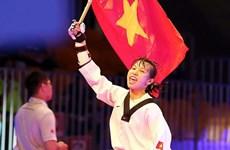 越南跆拳道选手首次获得世界跆拳道锦标赛银牌