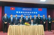 越南与中国促进经贸合作关系