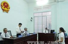 """涉嫌""""宣传反对越南社会主义共和国""""案的被告阮玉如琼被判十年有期徒刑"""