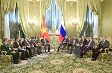 越南与俄罗斯发表联合声明