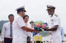 越美海军举行第八次交流活动
