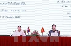 越老建交55周年:越老两国分享土地使用与管理经验