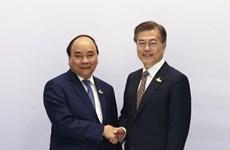 阮春福在G20峰会期间举行一系列双边会见活动
