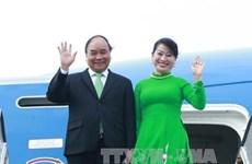 越南政府总理阮春福抵达阿姆斯特丹   开始对荷兰进行访问