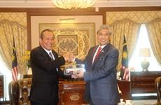 越南政府副总理张和平对马来西亚进行正式访问