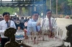 王廷惠副总理出席英雄烈士超度法会