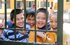 越南继续努力保障儿童权