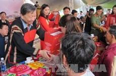 越南各阶层人民向抚优家庭表达感恩之心