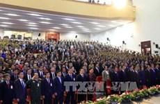 越南高级代表团赴老挝出席越老建交55周年庆典