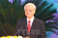 柬埔寨媒体高度关注越共中央总书记阮富仲访柬之行