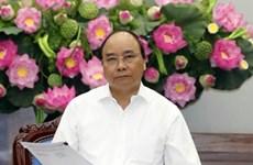 阮春福:政府和政府总理一向重视并为红十字会的活动创造便利
