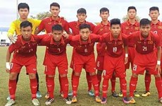 2017年东南亚U15锦标赛小组赛:越南U15队全胜