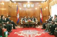 越南公安部与柬埔寨内政部下决心努力共建和平边界线