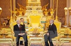 《柬埔寨之光报》:阮富仲总书记访柬有助于将两国关系推向新高度