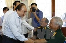 阮春福总理希望伤残军人好好疗养 继续为社会做出贡献