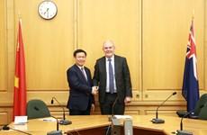 政府副总理王廷惠对新西兰进行正式访问