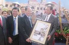胡志明市代表团对老挝进行访问
