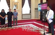 越南驻外大使馆纷纷举行越南伤残军人与烈士日70周年纪念活动