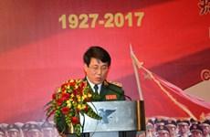 中国人民解放军建军90周年招待会在河内举行