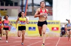 韩国队在第24次胡志明市国际田径公开赛各国田径队组以7金4银4铜居榜首