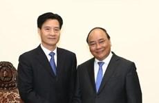 越南政府总理阮春福会见中国企业领导