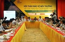 越南加强国家旅游区环境保护工作