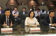 广宁省工作代表团赴新加坡学习借鉴智慧城市建设经验