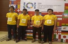 越南学生在国际信息学奥赛中大获佳绩