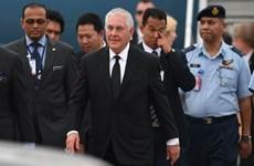 美国国务卿蒂勒森访问马来西亚